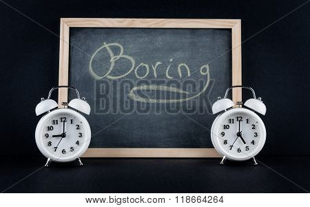 9 To 5 Boring Corporate Working Hours Concept