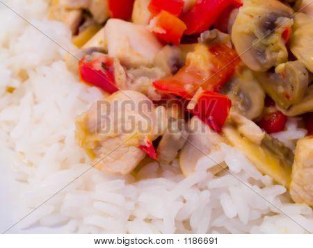 Jasmine Rice With Chicken