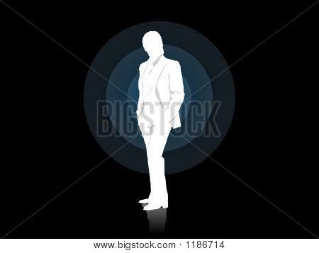 Businessman Alone