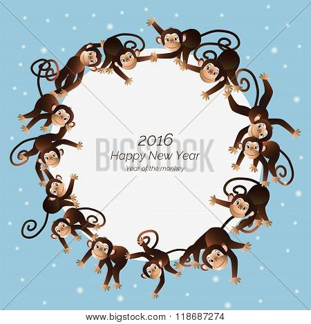 Monkeys in a circle