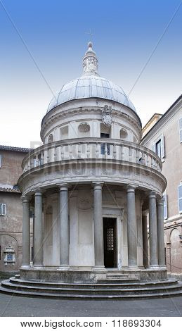 San Pietro in Montorio is a church in Rome Italy