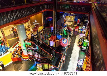 Sega Republic At The Dubai Mall