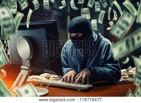Hacker in the office