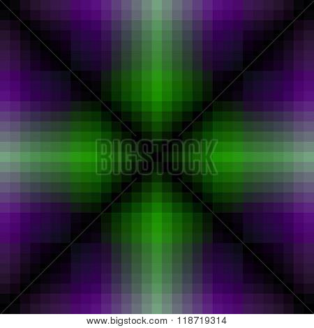 Seamless Background With Multi Collor Line