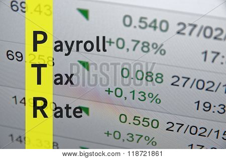 Payroll Tax Rate