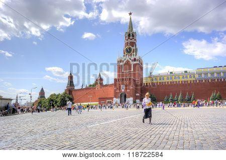 Moscow. Spasskaya Tower