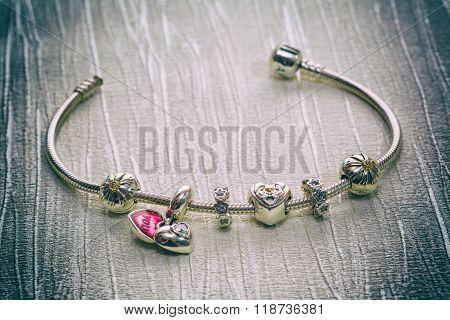 Bracelet Jewelry, Retro Style