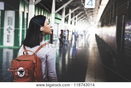 Travel Commuter Destination Tourist Concept