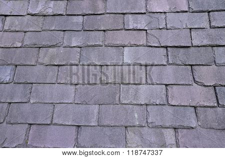 The House Slate Roof..