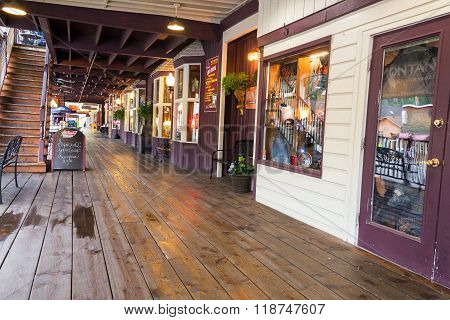 Boardwalk In Keystone, South Dakota