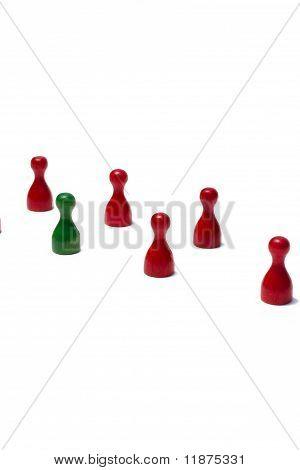 Counter mit verschiedenen Farben