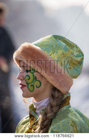 Kukeri Festival In Pernik, Bulgaria