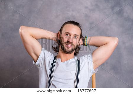 Young Relaxed Man