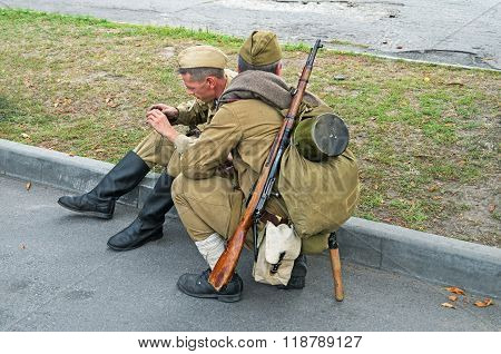 Rifleman Of Red Army