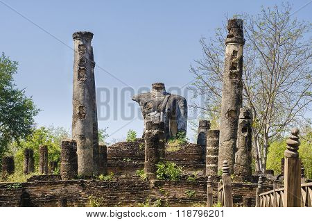 Remains Of Ancient Cultures In Thailand