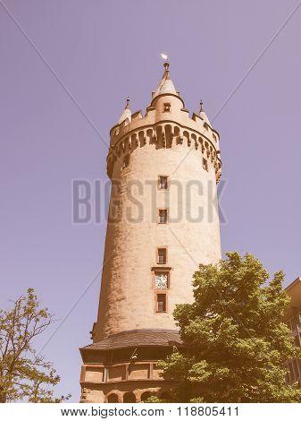 Eschenheimer Turm, Frankfurt Vintage