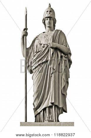 Classical Greek Goddess Athena Statue