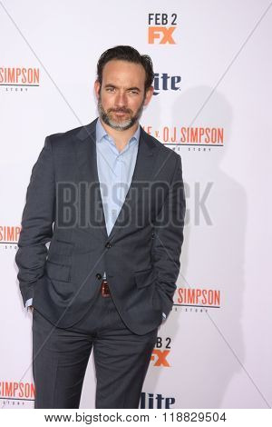 LOS ANGELES - JAN 27:  Chris Conner at the American Crime Story - The People V. O.J. Simpson Premiere at the Village Theater on January 27, 2016 in Westwood, CA