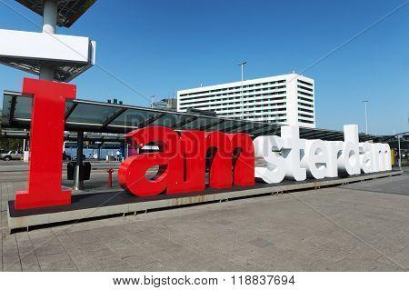 I am Amsterdam logo