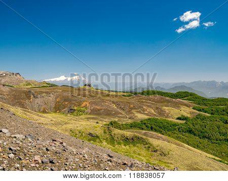 Hiking to the Vulkan Quetrupillan