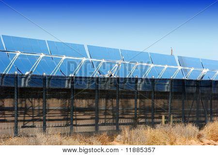 Sonnenkollektoren für alternative Energie