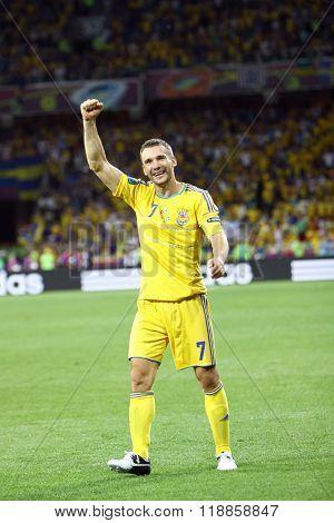 Andriy Shevchenko Of Ukraine