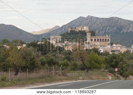 View on Arta