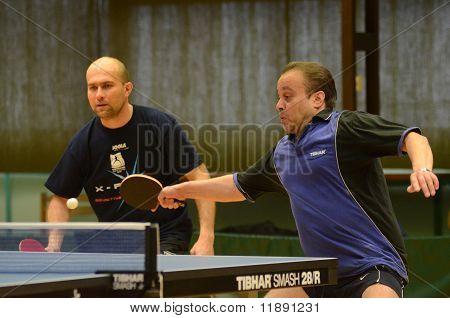 Kaposvar - jeu de tennis de table de Polgardi
