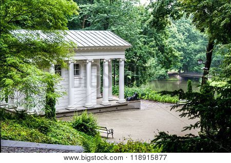 Temple of Sibyl, Lazienki Park, Warsaw