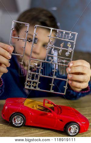 Model Car Parts