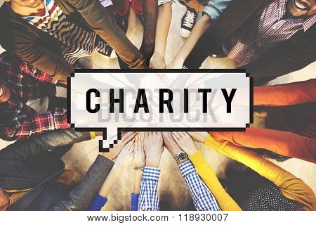 Charity Welfare Donation Generosity Support Give Help Concept