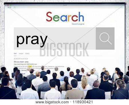 Pray Praying Prayer Confession Faith Spiritual Hope Concept