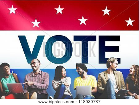 Vote Voting Election Politic Decision Democracy Concept