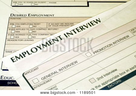 Employment Interview Form