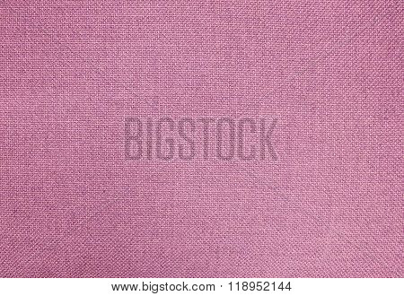 Pastel Background Of Pink Cotton Textile Texture