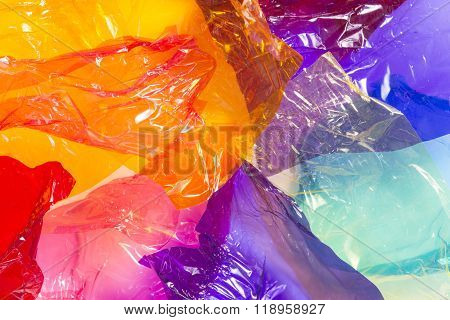 Multicoloured Sweet Wrappers
