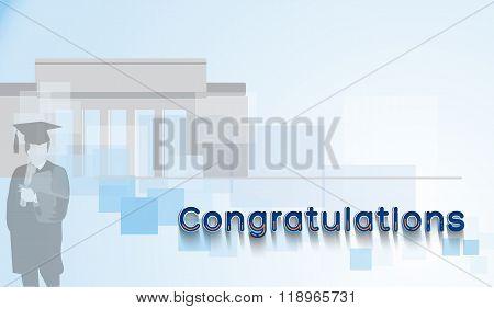 Congratulations for graduation.