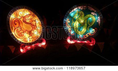 Dragon Handmade Chinese Lantern