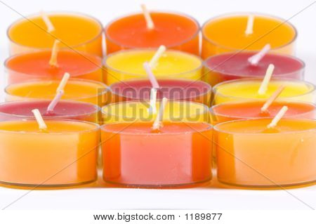 Candles Close-Up
