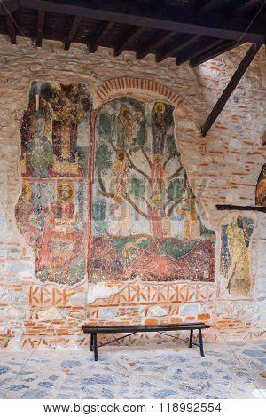 The Monastery Of Panagia Mavriotissa