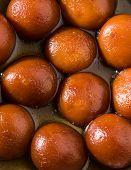 Gulab Jamun or Gulabjam or Gulab Jam, popular indian dessert poster