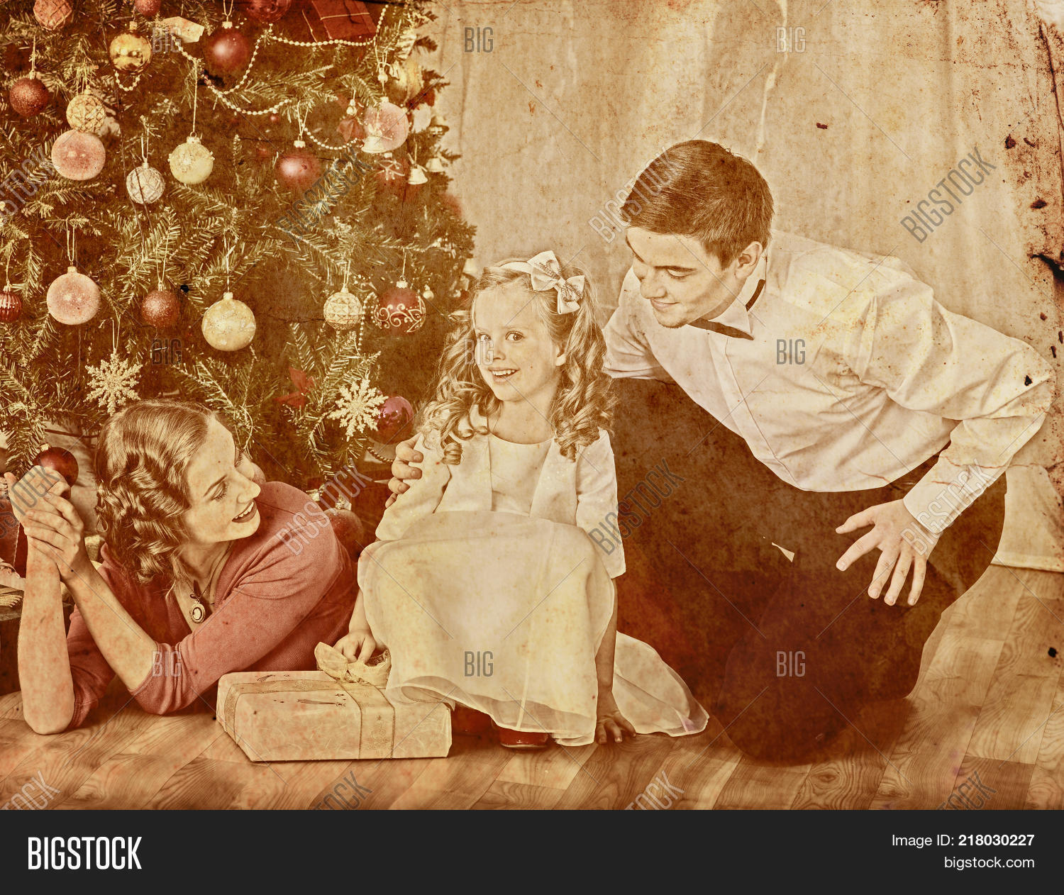 Nostalgy Christmas Image Photo Free Trial Bigstock