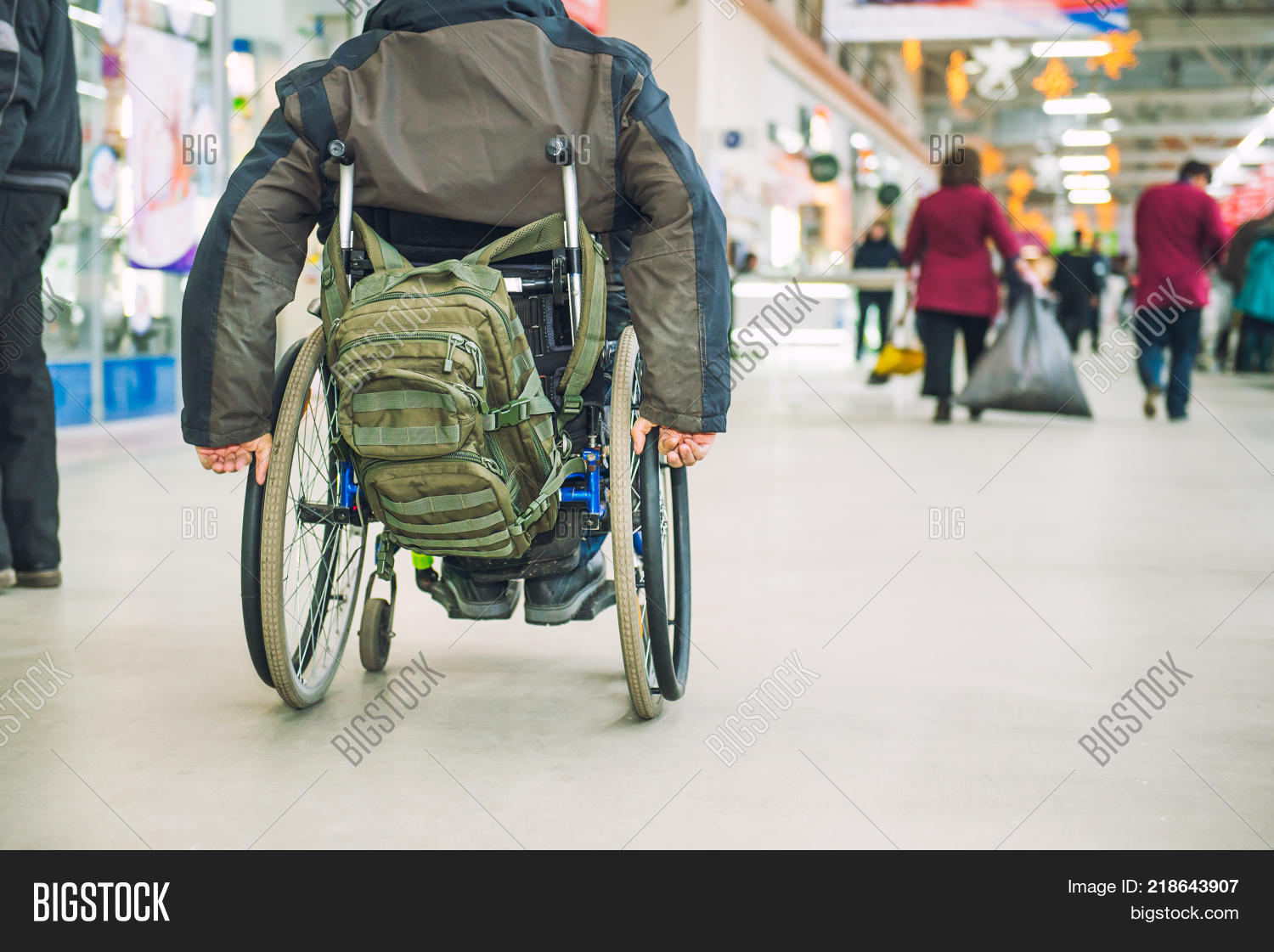 No Face Aged Disabled Image & Photo (Free Trial) | Bigstock