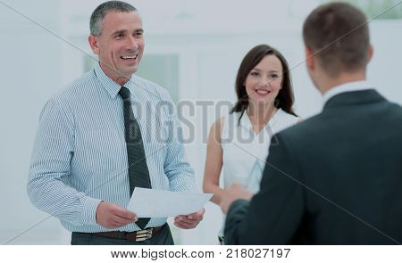 legal counsel presents to the client a signed contract