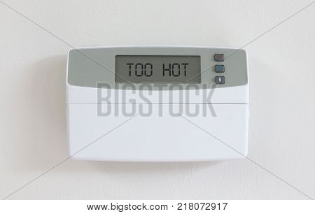 Vintage Digital Thermostat - Covert In Dust - Too Hot