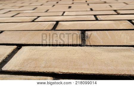 Abstract brick background. Brick wall. Brick background. Brick style. Grunge brick wall. Grunge background. Brickwork.  New brickwork.