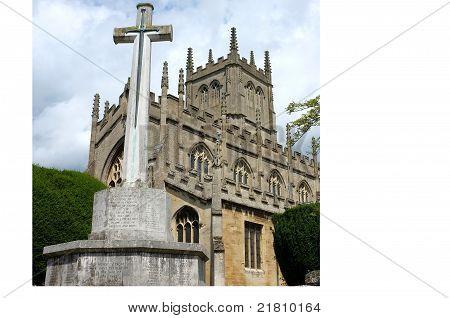 War Memorial and Church