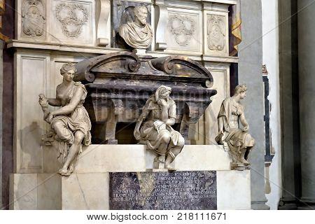 Tomb Of Michelangelo Buonarroti