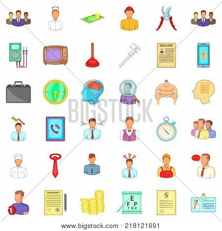 Resume Icons Set Vector Photo Free Trial Bigstock
