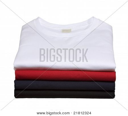 Stack Of Sweat Shirts